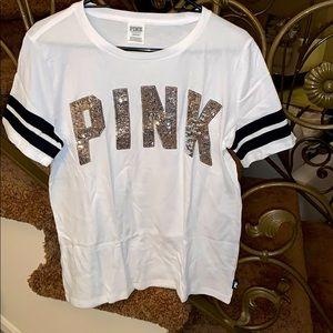 Victoria's Secret Pink T-shirt large